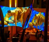 Ivy Pool Bar - Projection Screens