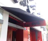 custom awning over doorway
