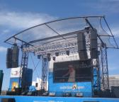 Clear Stage Roof - Australian Open Event