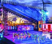 Theatrical Backdrop for Sydney Harbour Show