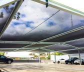 Shade Structure - Porsche Center Willoughby