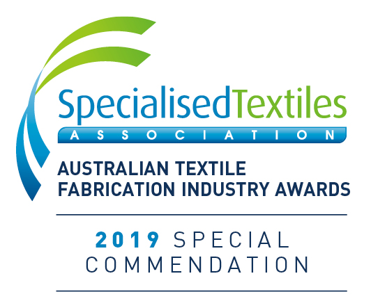 2016 specialised textiles association accreditation logo